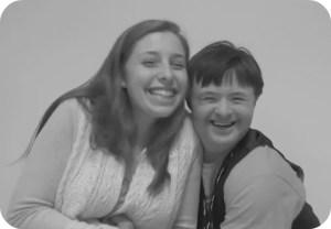 Megan Nuzzo and Alexander Baumann.