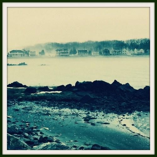 Old Mill fog - Betsy P. Kahn