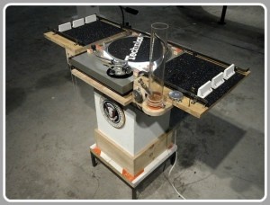 """Presidential Vampire,"" one of Tom Sachs' boombox creations. (Photo/TomSachs.org)"