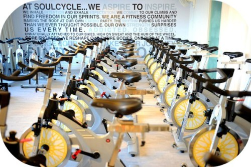 A typical Soul Cycle center.