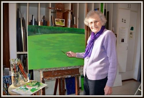 Susan Malloy -- an artist herself -- helped the  Westport Arts Center survive.
