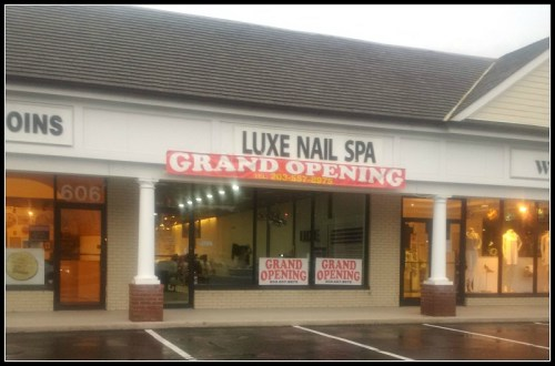 Luxe nail salon