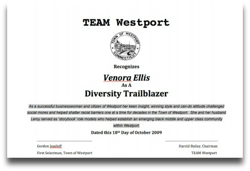 Venora Ellis TEAM Westport