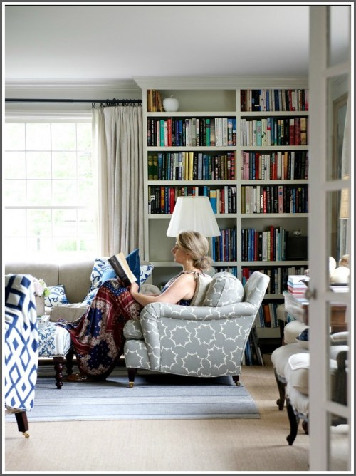 """Jane Green tells the New York Times, """"I feel like the house is hugging me when I come home."""" (Photo/Jane Beiles for NY Times)"""
