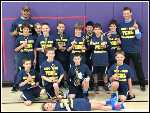 Last year's 5th grade boys Fairfield County Basketball League champs were a Westport YMCA team.