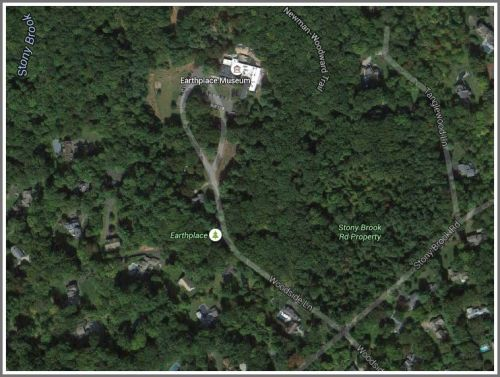 "The proposed Lillian Wadsworth Arboretum is called ""Stony Brook property"" on this Google Maps Earth view."