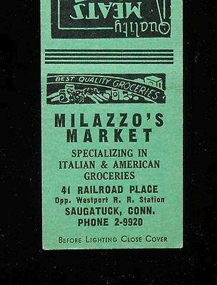 Milazzo's Market, another Saugatuck mainstay.