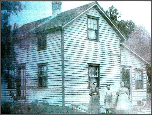 88 Roseville Road, in an 1895 photo.