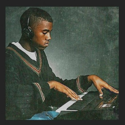 """The cover art for Kanye West's """"Real Friends."""""""