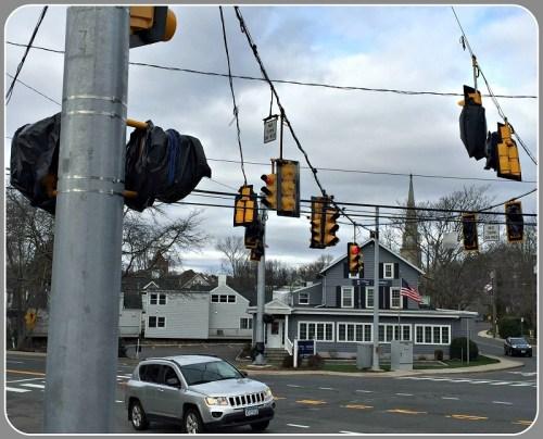 Myrtle Avenue traffic lights