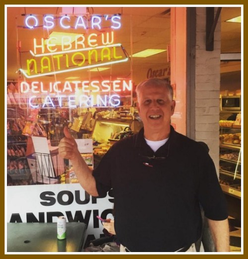 Oscar's owner Lee Papageorge.