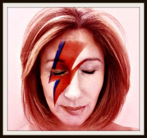 Jane Green channels David Bowie.