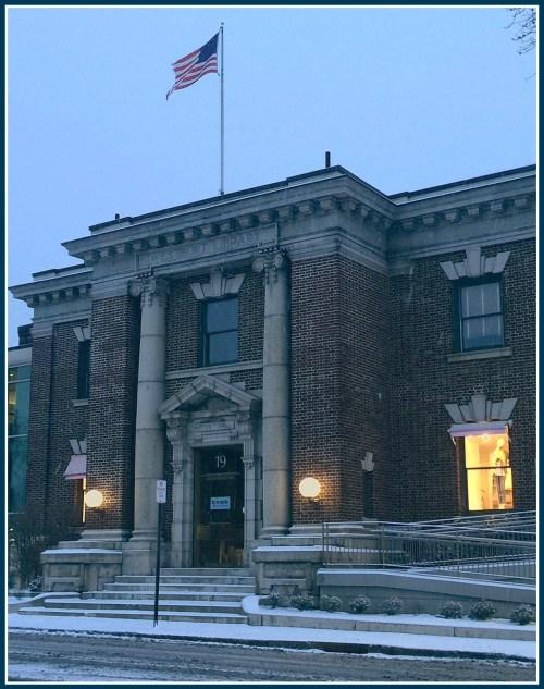 Old library - February 15, 2016 - Lynn U Miller