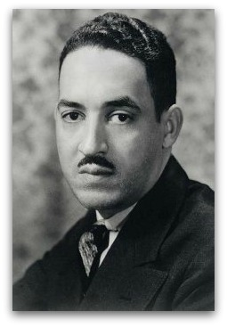 Thurgood Marshall, as a young man.