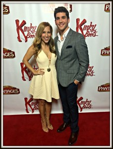 "Adam Kaplan and the cast spend time promoting ""Kinky Boots"" -- on a red carpet, of course."