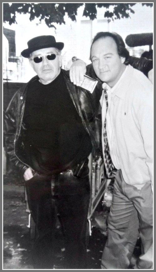 Peter Pastorelli with Jim Belushi.
