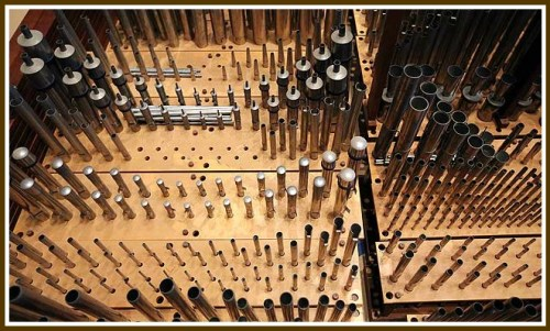 Pipe organs are complex instruments.