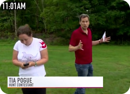 Tia and David Pogue, in their Yahoo video.