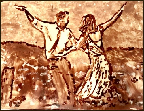 "Aarti Khosla's chocolate rendition of ""La La Land."""