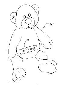Wii patents go into strange territory, including teddy