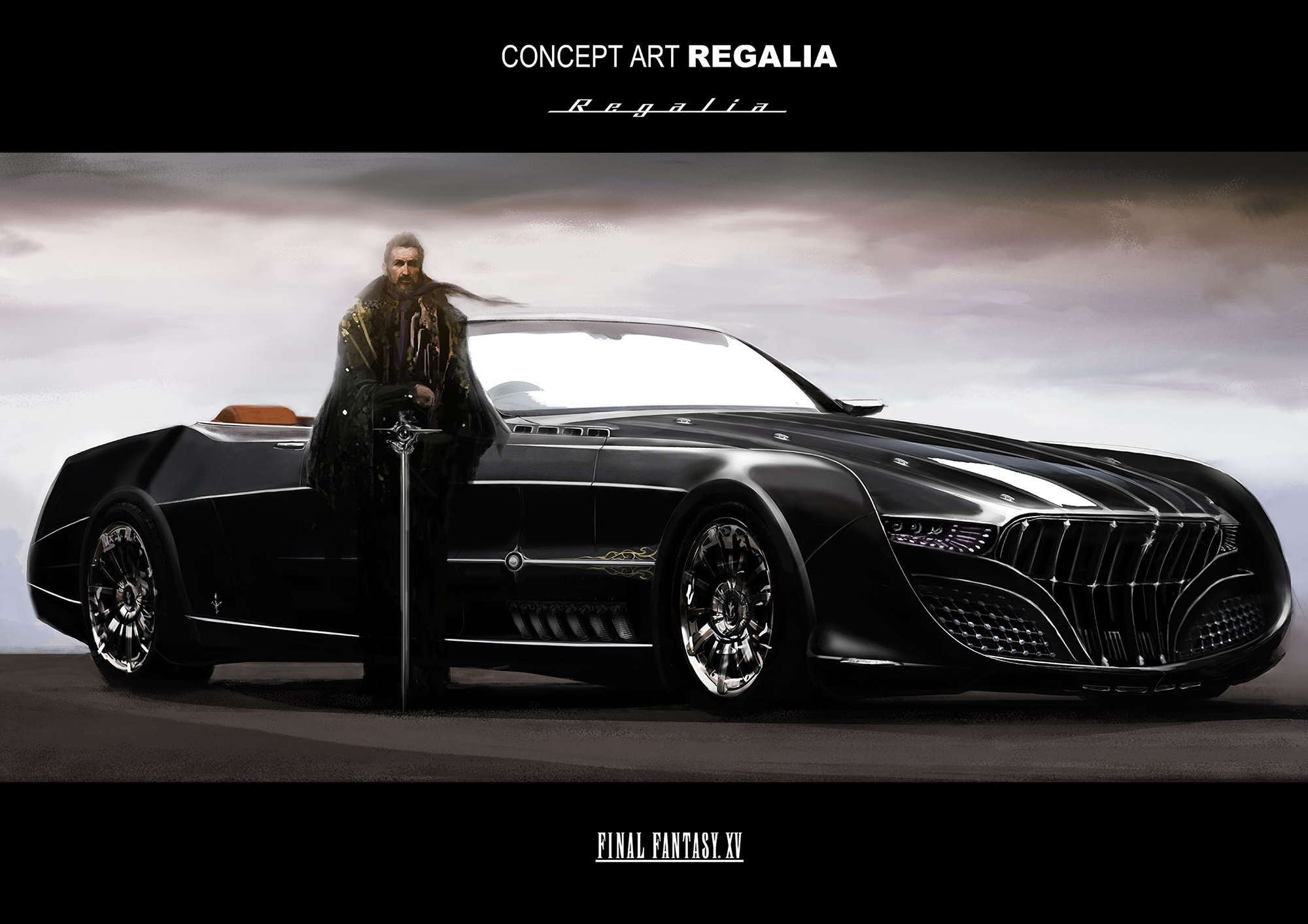 Final Fantasy XV Regalia Concept Art 1