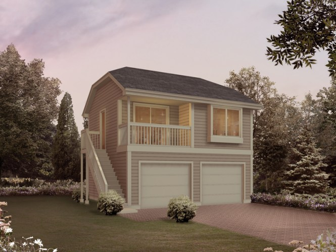 Two Story Garage Apartment Plans 2