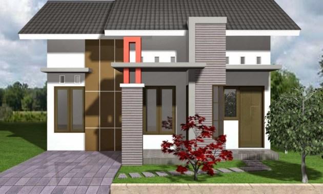 Rumah Minimalis Type 36 dengan Tema Cerah