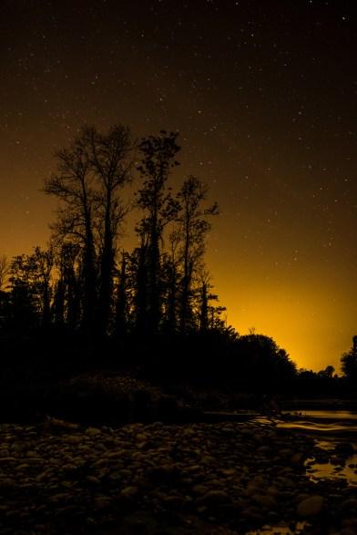 Sternenhimmel an der Aare