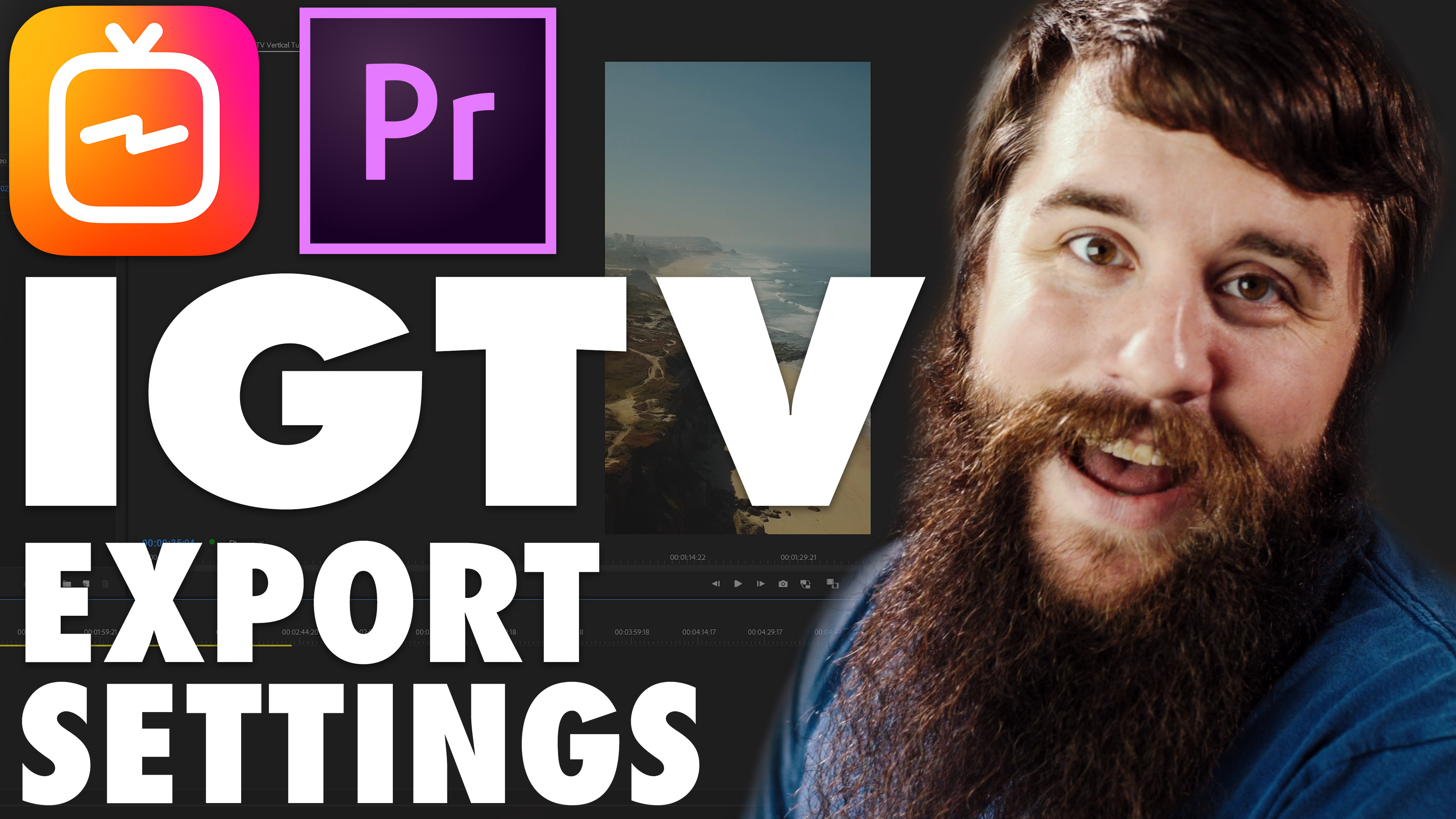 FREE DOWNLOAD: Instagram TV (IGTV) Sequence & Export Presets – Who