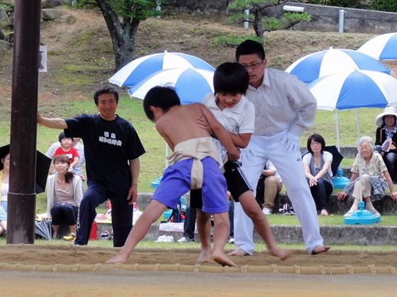 第8回わんぱく相撲因島場所