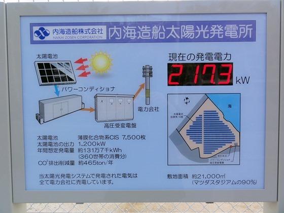 内海造船太陽光発電所