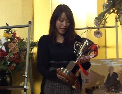 初の囲碁女流秀策杯 万波二段が優勝