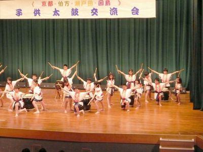 京都市立醒泉小学校の醒泉太鼓