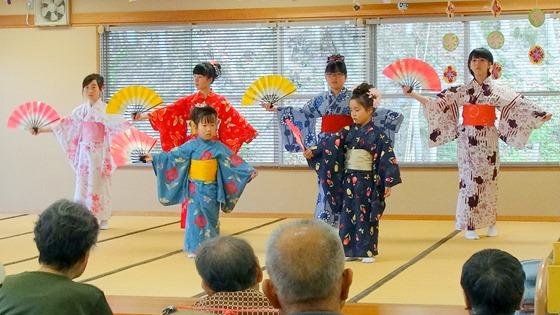因島日本舞踊こども教室