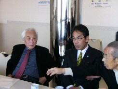青木昌彦氏と平谷尾道市長