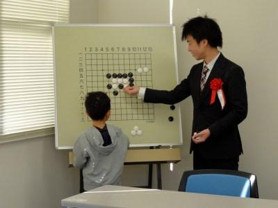 本因坊秀策囲碁記念館子ども囲碁大会
