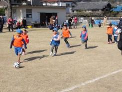 因・瀬幼児サッカー大会