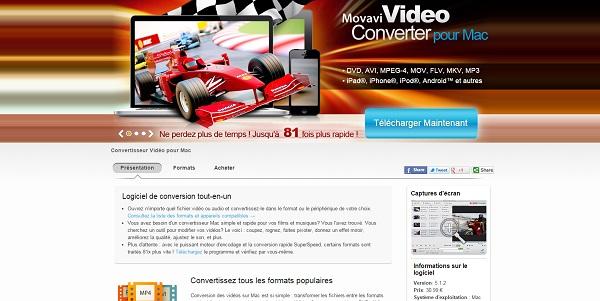 Rapidement et facilement convertir ses vidéos sur Mac