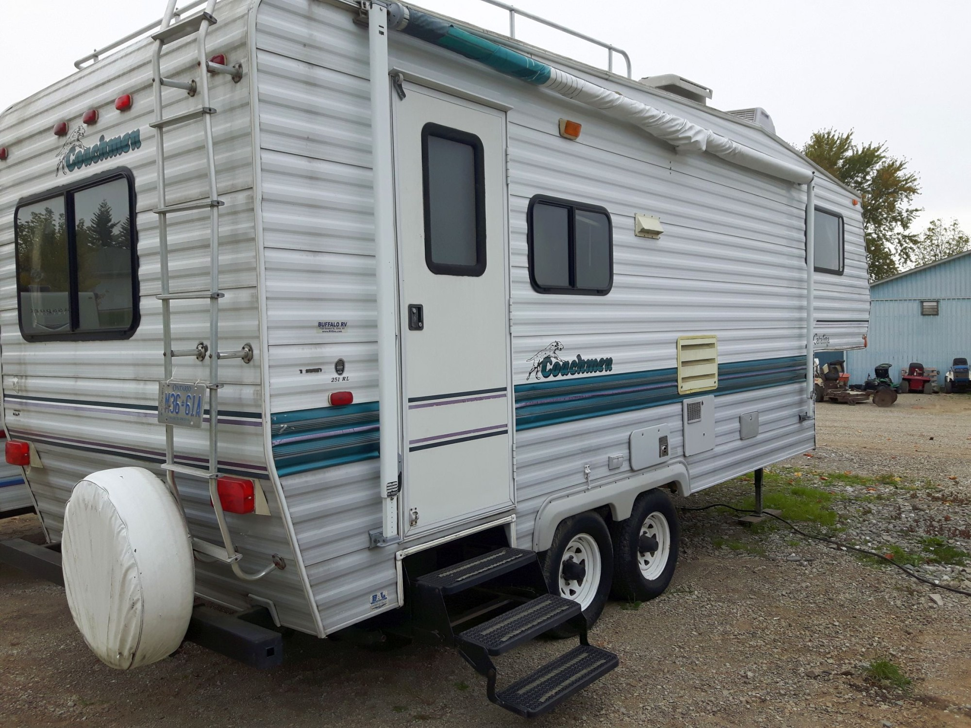 hight resolution of 1996 coachmen fifth wheel trailer 1995 00 as is