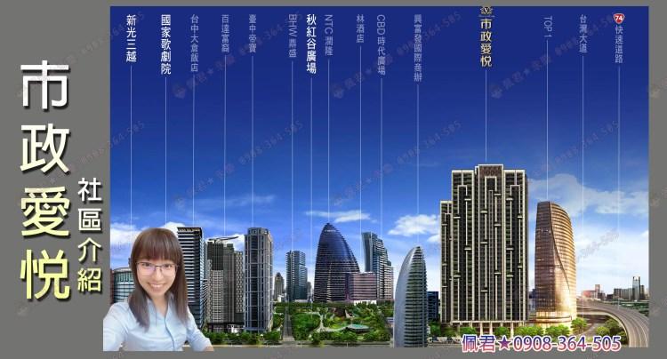 最新社區介紹-七期市政愛悅 佩君0908364505