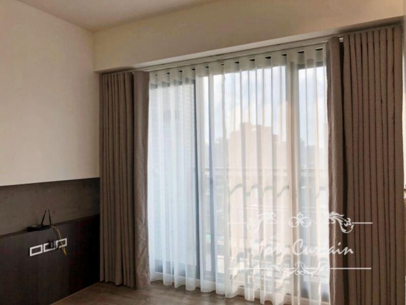 苗栗窗簾,進口期貨布,進口細緻窗紗,蛇簾