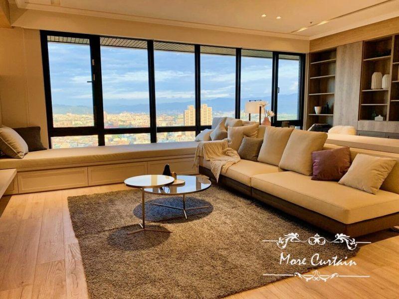 客廳 窗簾設計