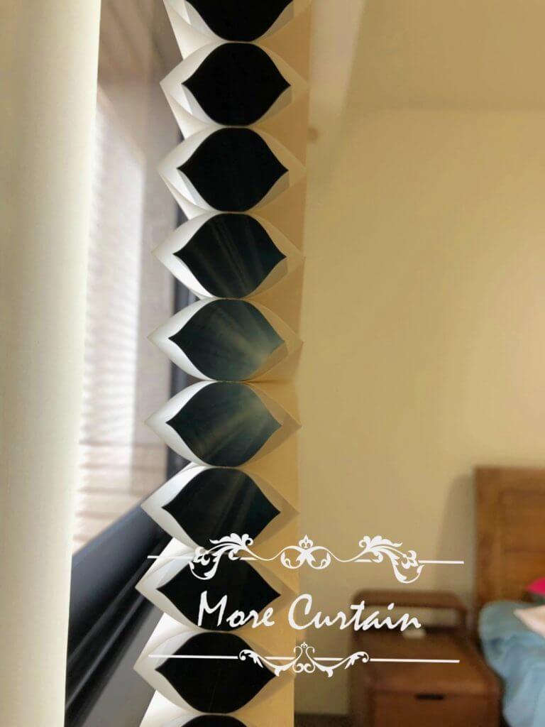 HunterDouglas風琴簾 調節溫度