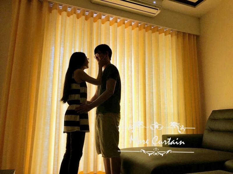 窗簾配色能營造舒適的環境,使居住者放鬆心情