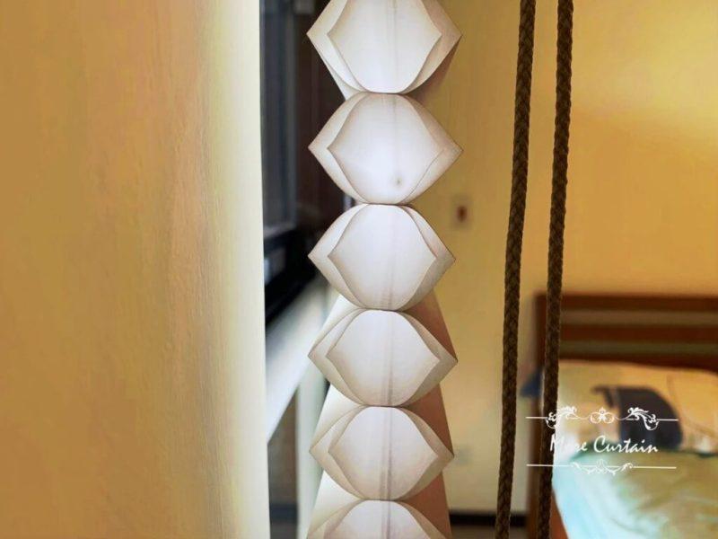 HunterDouglas風琴簾 雙蜂巢設計