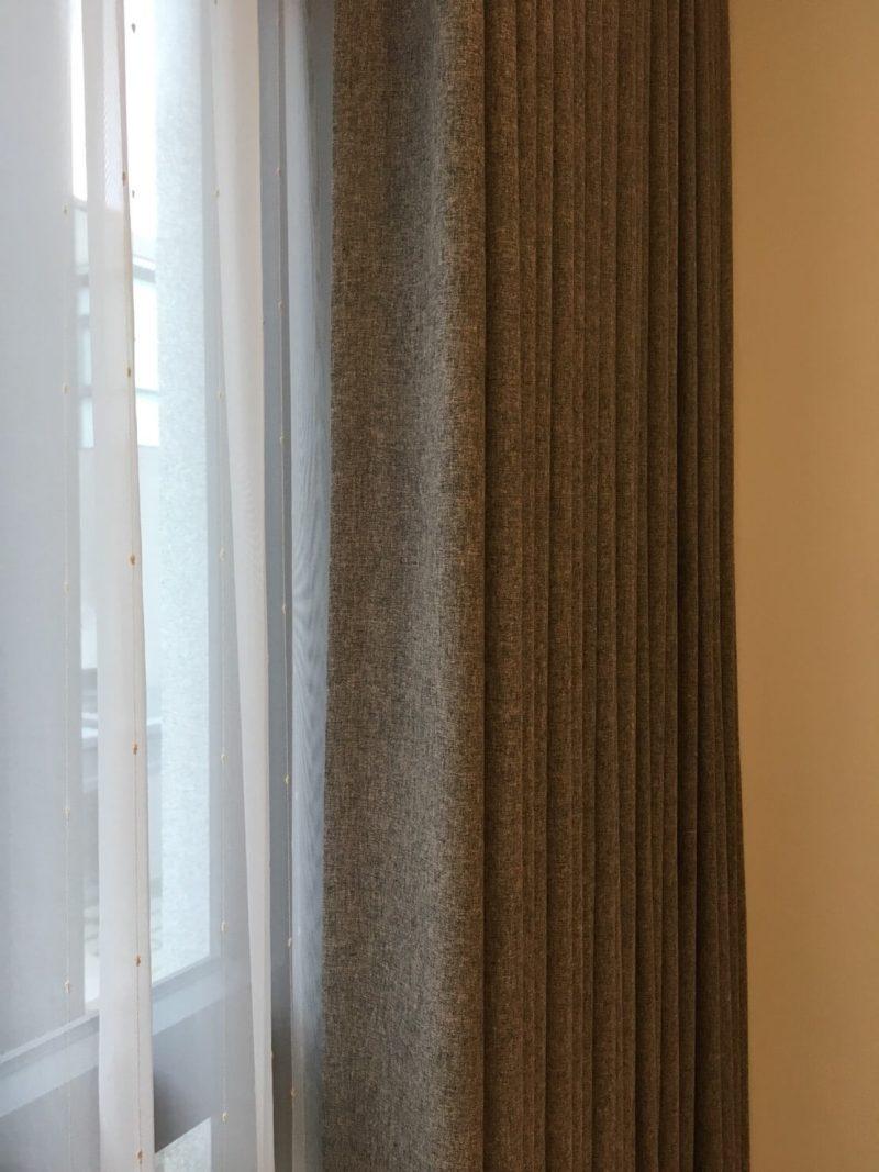 天然面料 棉麻窗簾布