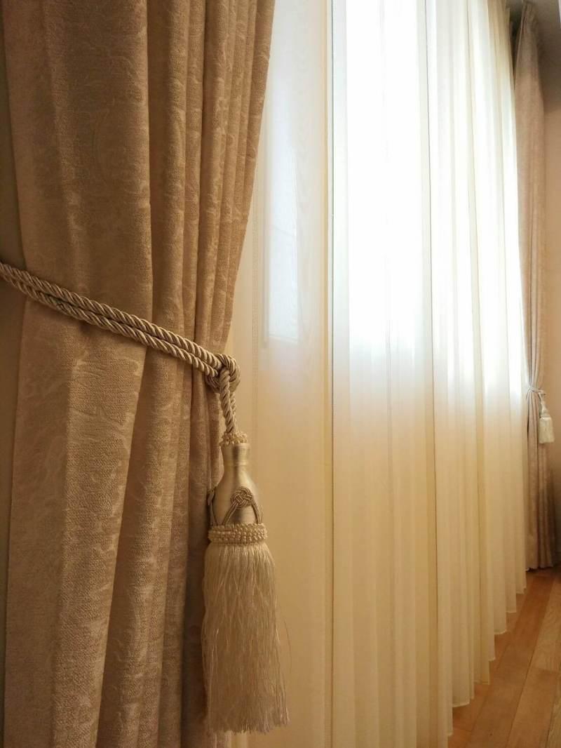 窗簾布 緹花布