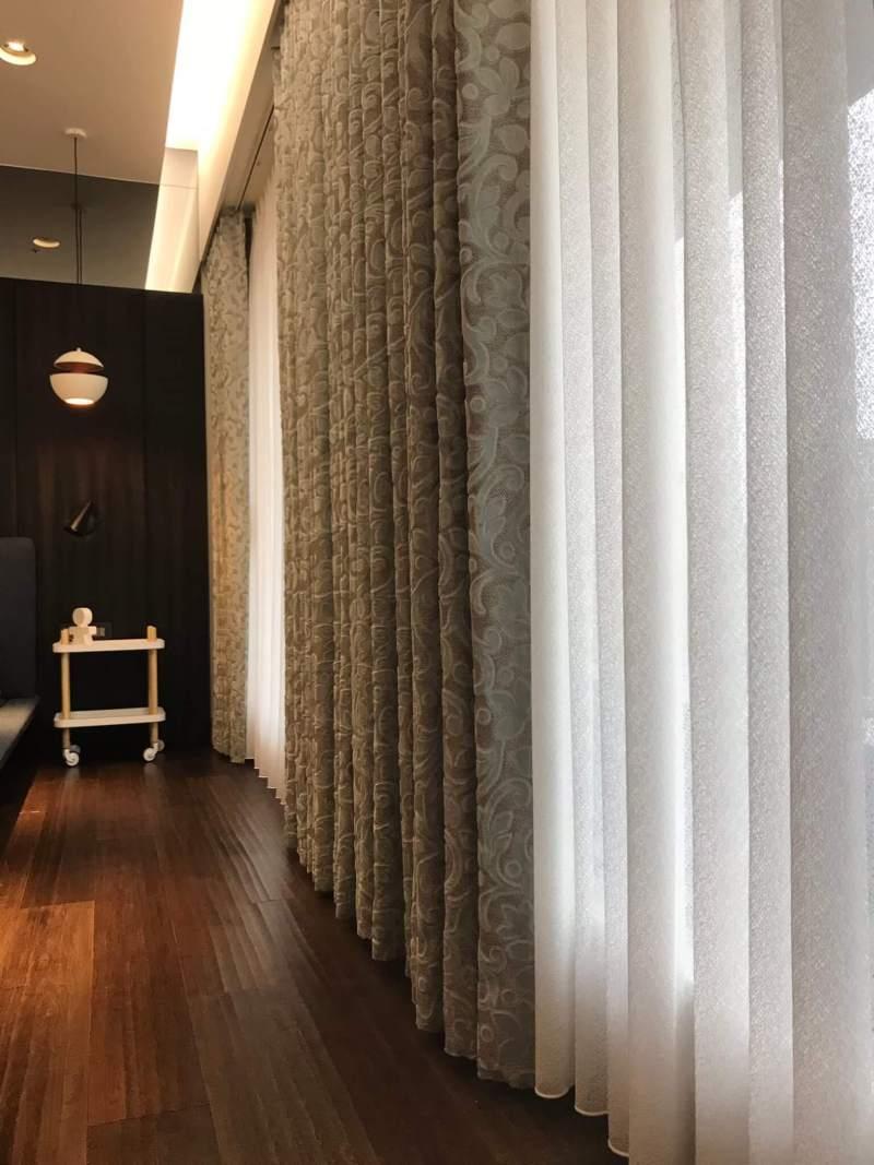 繡花窗簾布 蛇簾