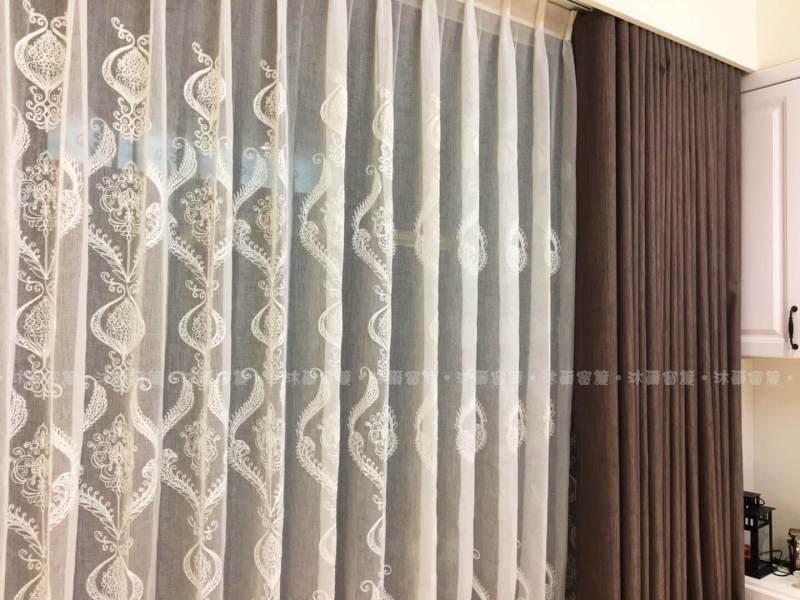 大馬士革宮廷風窗簾