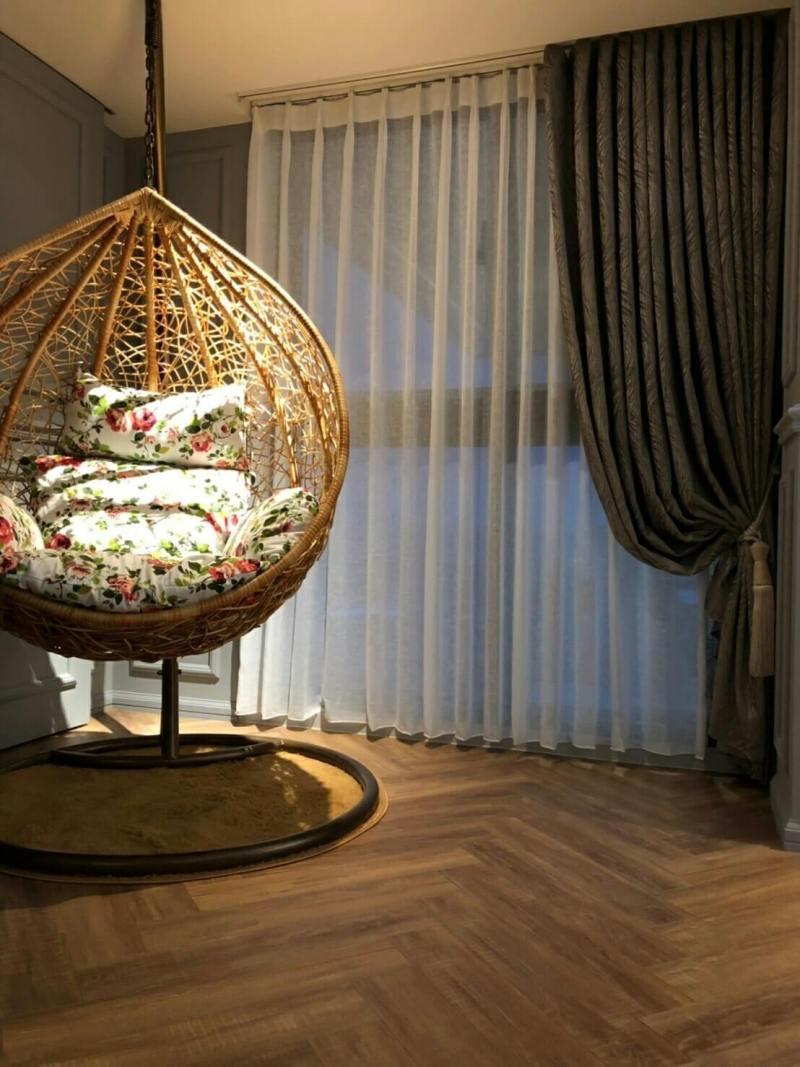 典雅富麗宮廷風窗簾